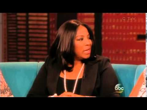 LaTanya Richardson talks on the VIEW show - YouTube